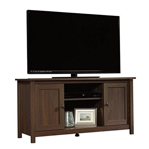 Sauder 416923 Rum Walnut Finish County Line Tv Stand Enilme