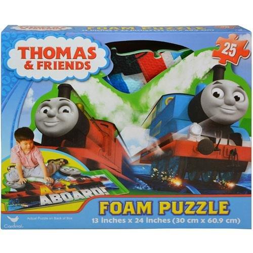 Cardinal Thomas And Friends 25 Pc Floor Foam Puzzle Mat