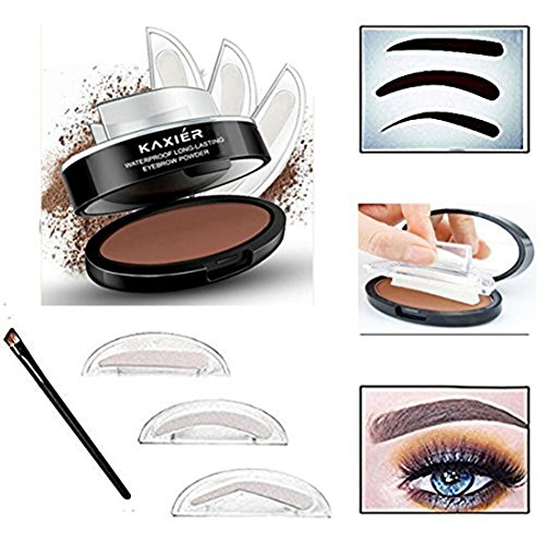 Easy-to-Use Eyebrow Shaping & Defining Stencils - Step by ...