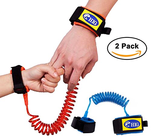 2.5M Child Anti Lost Connection Wrist Strap Cord Strap Comfortable Extra Light and Breathable 2,5M Orange